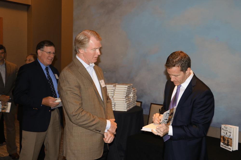 Eric Greitens book signing