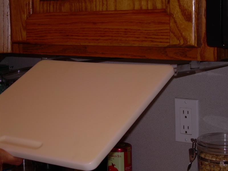 cutting board mount