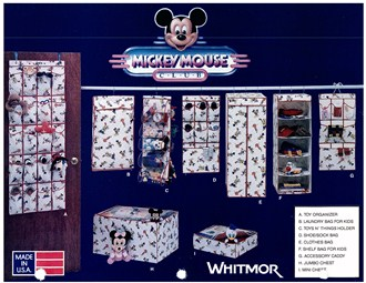 Disney Mickey Mouse licensed product line from the 1990s