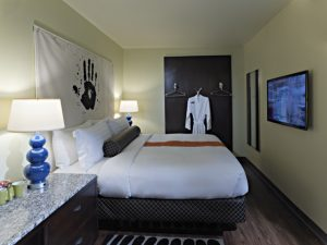 Standard Bedroom complete w/ King at the ACME Hotel Company