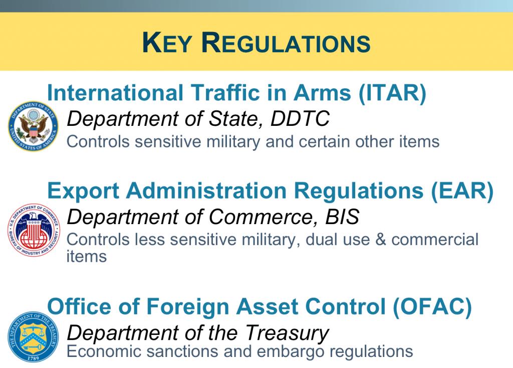 Key Regulations slide for perry blog 2