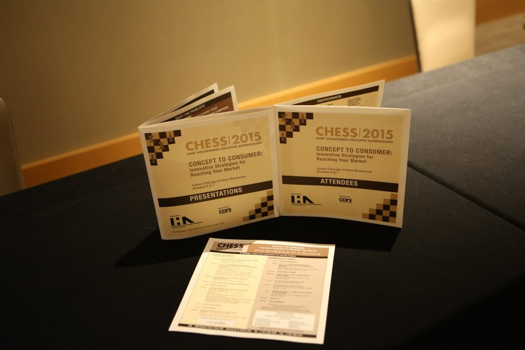CHESS booklets