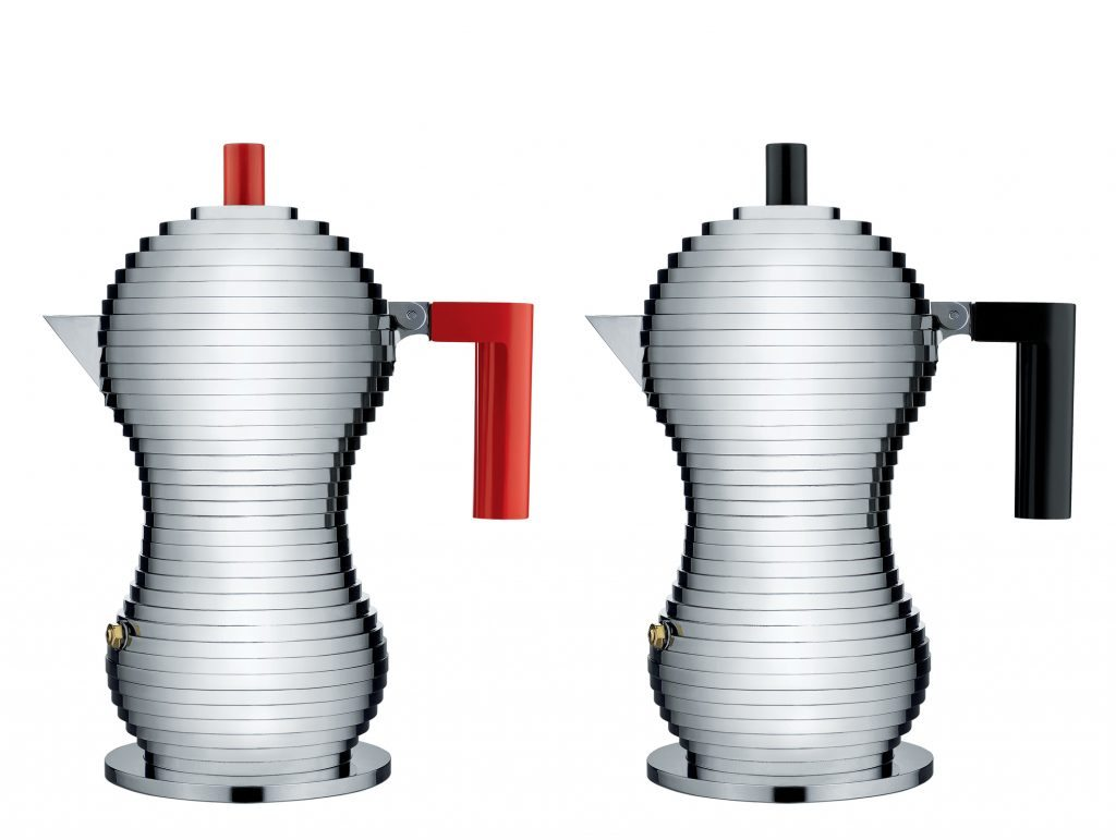 Pulcina coffee server designed by Michele De Lucchi in collaboration with Illy Caffe