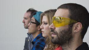 From left: Thom Moran, Eiji Jimbo, Rachel Mulderand Simon Anton