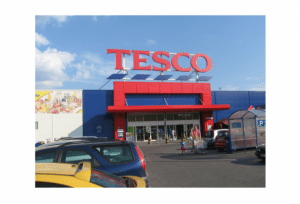 Tesco Shows Volume Growth