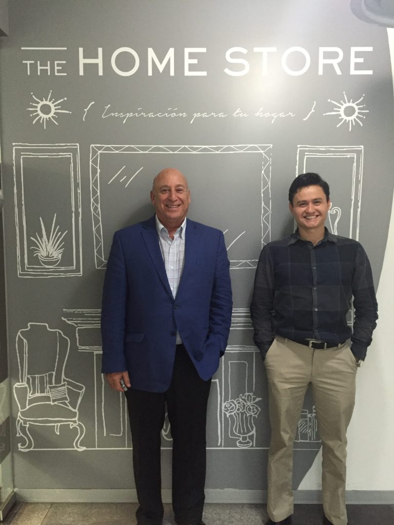 Franklin Serphos & Omar Pacheco at The Home Store