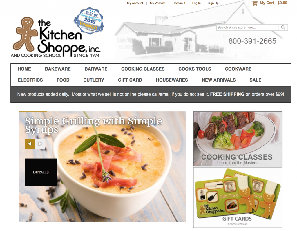 Retail Profile: The Kitchen Shoppe & Cooking School - International ...