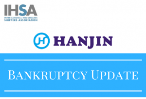 Possible Impacts of Hanjin's Bankruptcy on Current Shipments