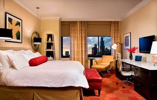 Blackstone Hotel Guestroom View
