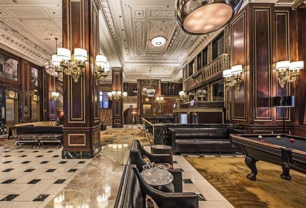 Blackstone Hotel Lobby
