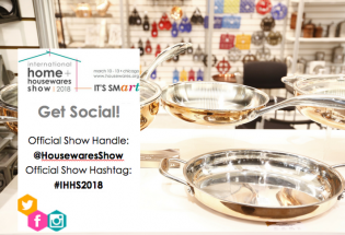 Get Social at the 2018 International Home + Housewares Show!