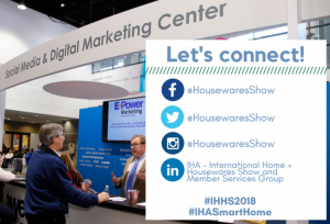 Meet with Social Media & Digital Marketing Professionals at #IHHS2018!