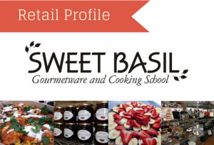 Retail Profile: Sweet Basil Gourmetware and Cooking School