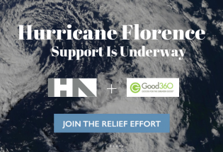 IHA Partners with Good360 to Assist in Hurricane Florence Relief