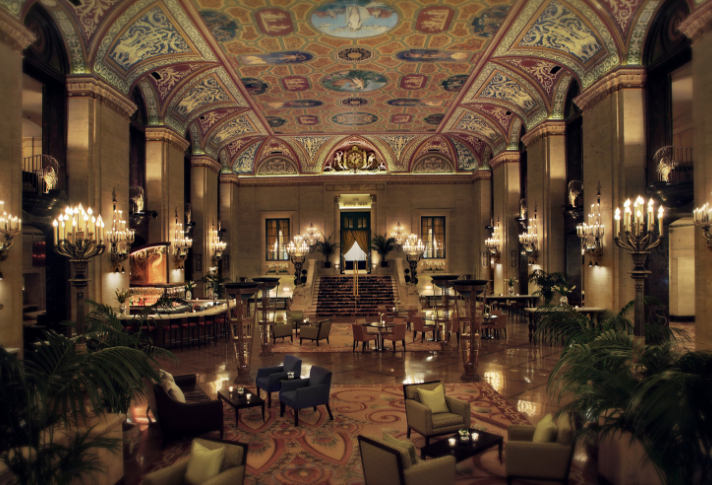 Experience the Hip & Historic Palmer House, a Hilton Hotel