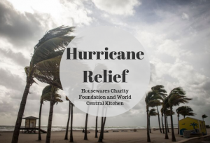 Housewares Charity Foundation Donates to World Central Kitchen for Hurricane Dorian Relief