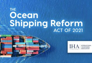 IHA Joins Coalition Backing Federal Bill Aimed at Curbing Unfair Ocean Shipping Practices, Charges